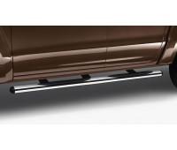 Пороги с нержавеющей стали, 76 мм для Amarok