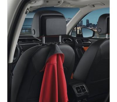 Вешалка крючок для одежды черная Volkswagen