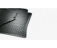 Резиновые коврики задние для Passat B6, B7, Volkswagen CC