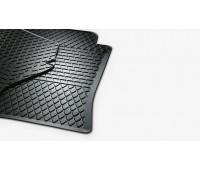 Резиновые коврики передние для Passat B8