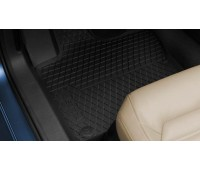 Резиновые коврики передние для Jetta