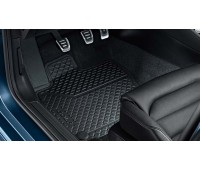 Резиновые коврики задние для Golf 6 Plus