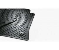 Резиновые коврики передние для T5