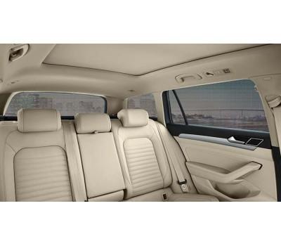 Солнцезащитные шторки для боковых стекол задних дверей, малых боковых и заднего стекла для Passat B8