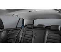 Солнцезащитные шторки багажника малых боковых окон и заднего стекла для Golf 7