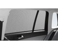 Солнцезащитные шторки багажника малых боковых окон и заднего стекла для Tiguan