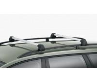 Багажные дуги для Passat B7 c рейлингами крыши